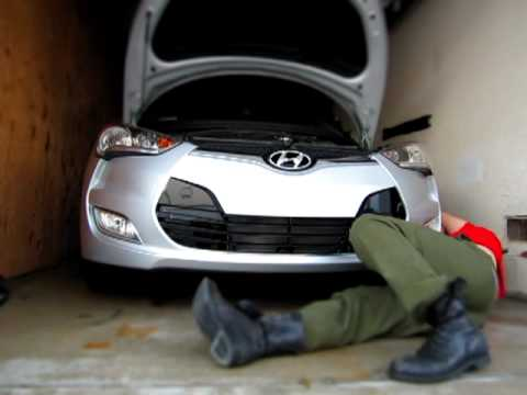 Fast Veloster Front Bumper Removal