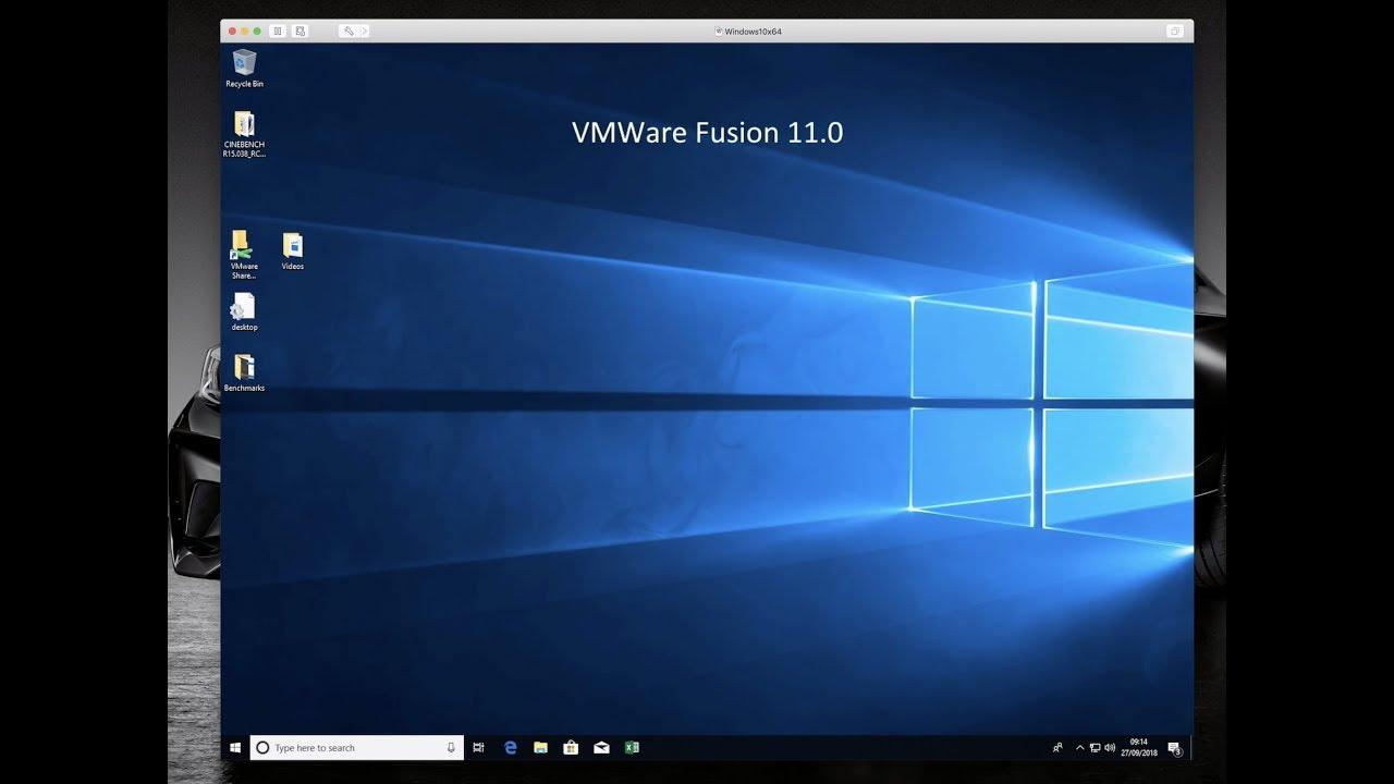 VMWare Fusion 11 0 - It's a mess