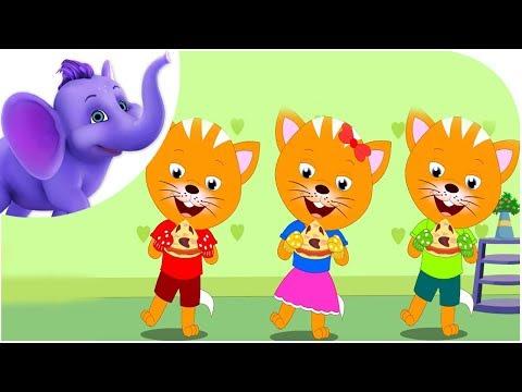 Three Little Kittens - Nursery Rhyme with Karaoke