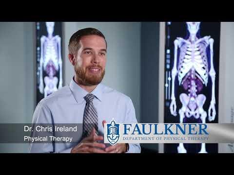 Faulkner University's PT Program Dr Chris Ireland