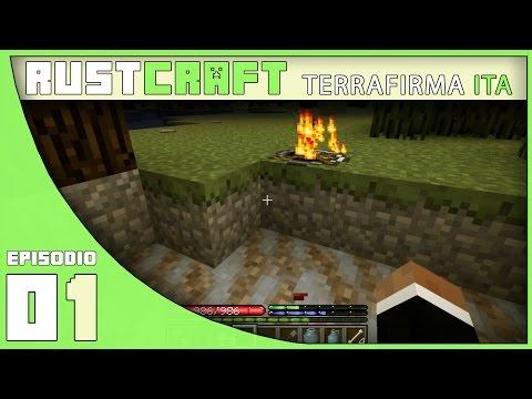 RustCraft - Terrafirmacraft [ITA] - EP. 01 - Stone Age