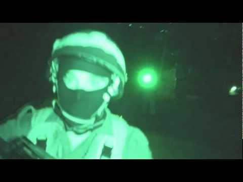 Night Raid On Bilin  (israel is a facist state)
