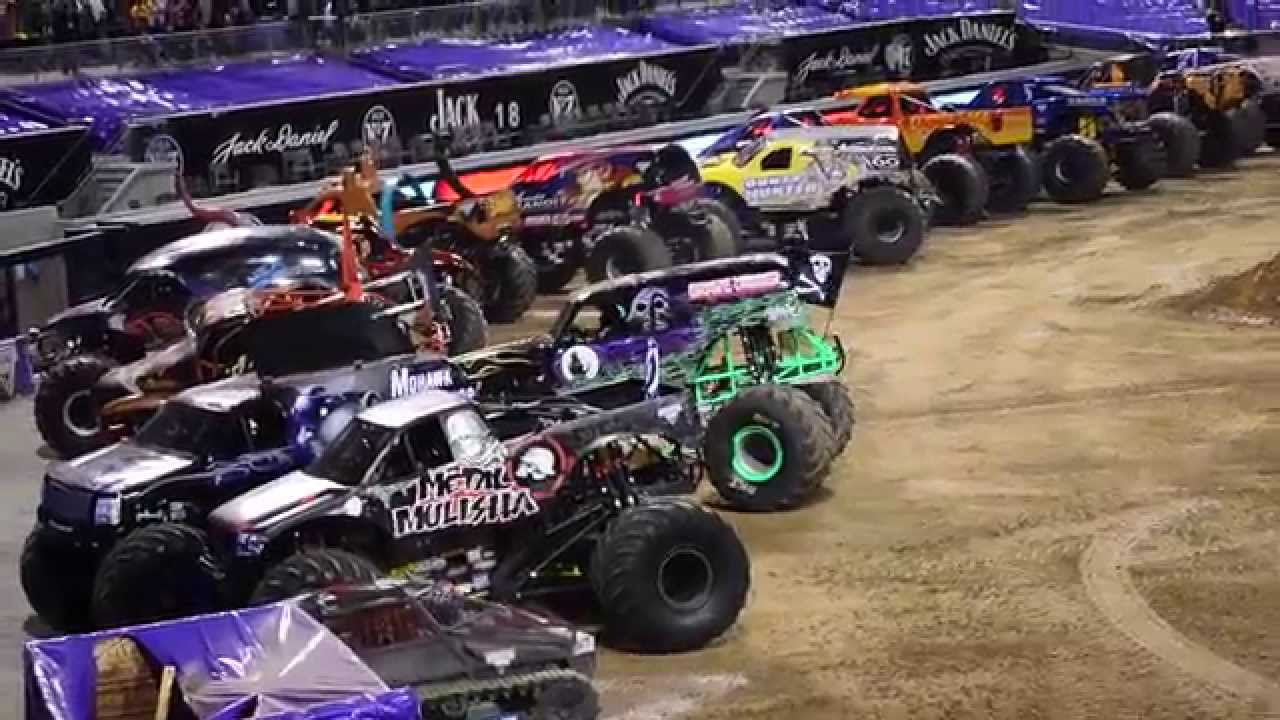 Monster jam 2015 san diego grave digger freestyle finale 1 31 2015 1080p hd youtube