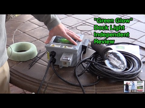 "green glow"" underwater dock light review (and unboxing) - youtube, Reel Combo"