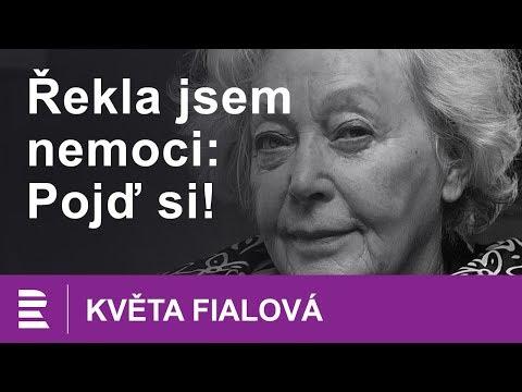 """Květa Fialová o smrti a stáří: """"Řekla jsem nemoci: Pojď si!"""""""