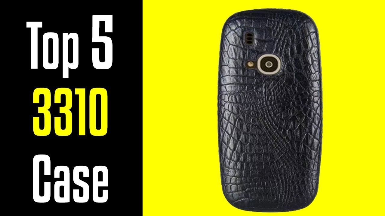 sale retailer fa631 31a6f 🔻Top 5 Best Nokia 3310 Cases!🔺[4K]
