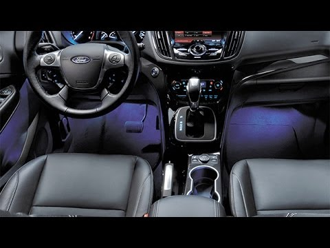2014 Ford Escape Interior Review  YouTube