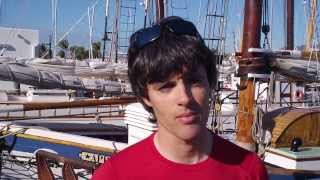 Interview with Peter O'Leary, Irish olympian and crew member of Catapult, at Quantum Key West 2014