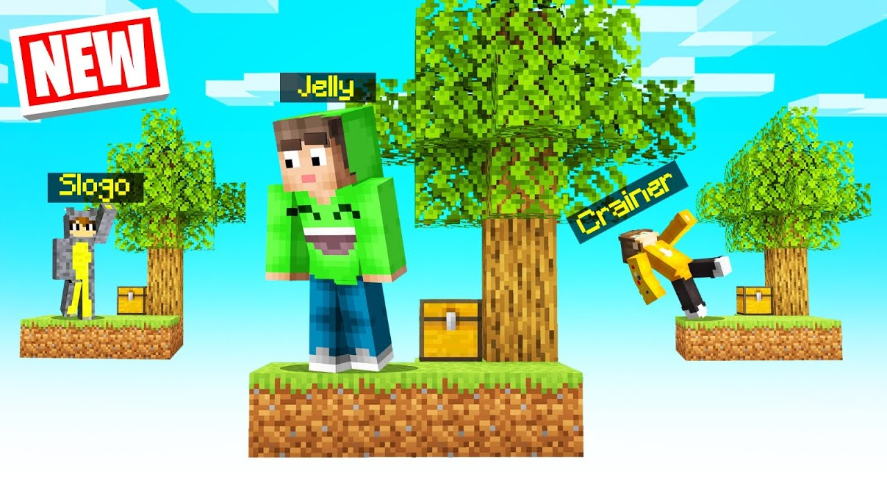 Download Playing SKYBLOCK with My FRIENDS In MINECRAFT!