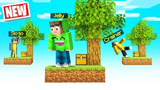 Playing SKYBLOCK with My FRIENDS In MINECRAFT!