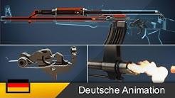 AK-47 - So funktioniert ein Gewehr! (Animation)