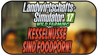 LS17 WILD FARMING - KESSELNÜSSE = FOOD PORN  #033 ★Let's Play Landwirtschaft Simulator 17