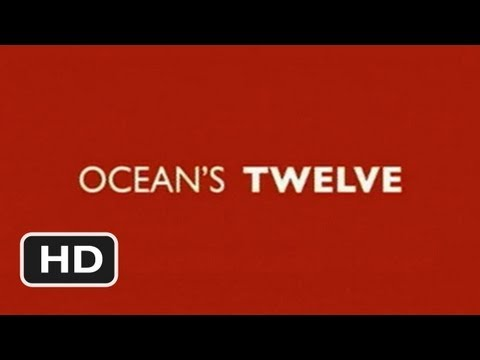 Ocean's Twelve Official Trailer #1 - (2004) HD