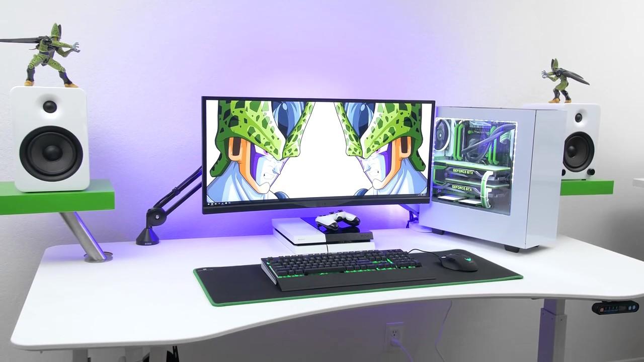 Technology Pc 9600 Setup Perfect Desk Setup By Techlife