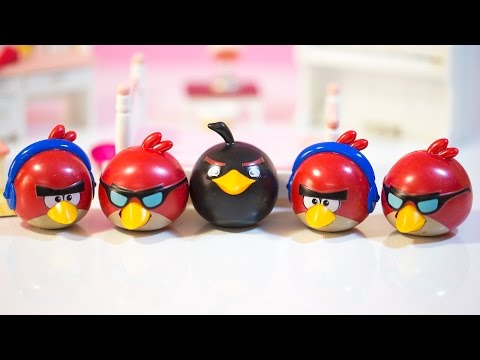 Five Little Angry Birds Jumping On The Bed | Nursery Rhymes Video by Little Baby Paws