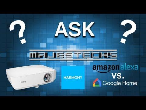 Ask Majestechs #1 - Best 1080p Projector in 2017? Alexa vs Google Home?