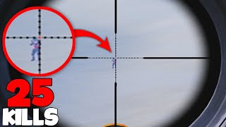 LONGEST SNIPER SHOT EVER IN PUBG MOBILE!