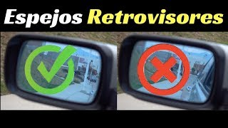 ESPEJOS RETROVISORES: Cómo alinearlos para evitar el punto ciego- Velocidad Total