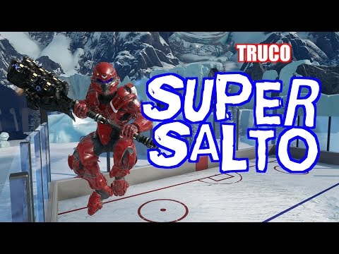 SUPER SALTO EN Halo 5: Guardians (TRUCO)