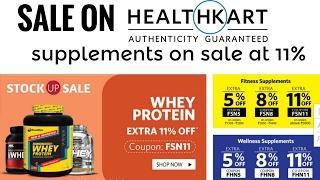 Supplements sale on Healthkart! hindi