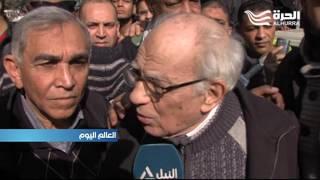 تشييع جنازة الممثلة كريمة مختار بعد وفاتها عن عمر ناهز 82 عاما