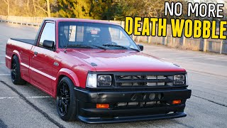 homepage tile video photo for Fixing the DRIFT TRUCK's WORST ISSUE: Death Wobble...