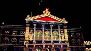 Rendezvous Bundesplatz Lightshow Bern