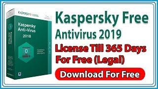 Kaspersky Antivirus 2019 Free for 1 year, 365 days (Legal)