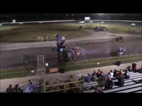 South Texas Speedway Crash