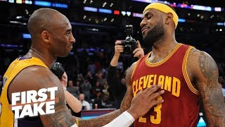 Stephen A. Would Take Kobe Over LeBron In Final Two Minutes Of Game   First Take   ESPN