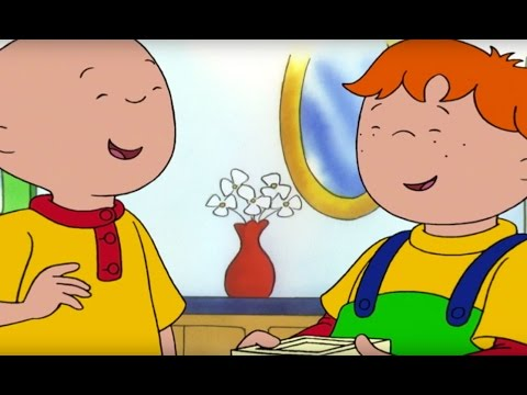 Caillou English Full Episodes |  Get Well Soon | Cartoons for Kids