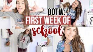 OOTW: FIRST WEEK OF SCHOOL 2017! (Senior Dress Up Week)