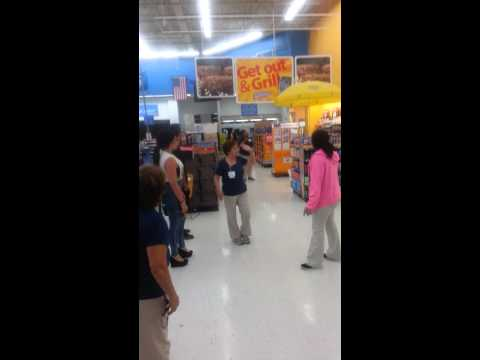 Late night fight in Wal-Mart