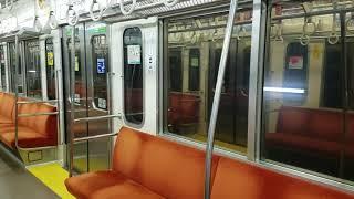 西武秩父線正丸トンネル信号場内の列車待避。