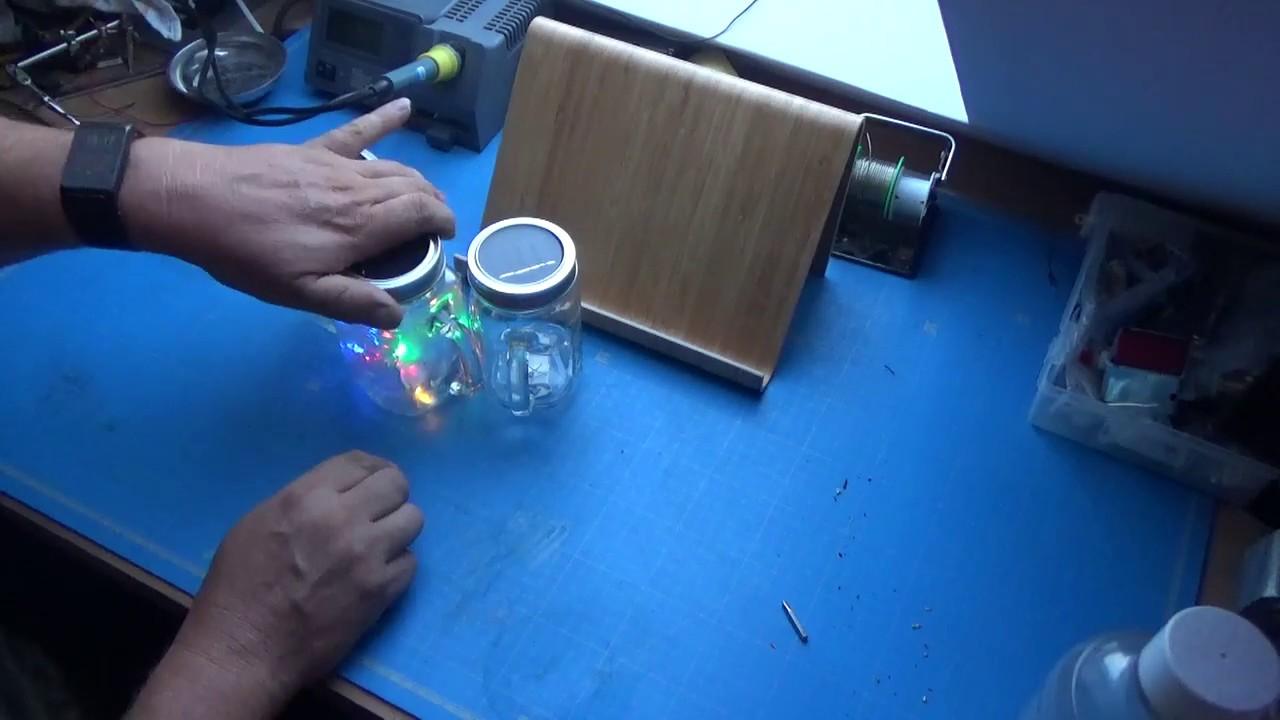 Solar Led Glas Für 3 Euro Ohne Zu Basteln