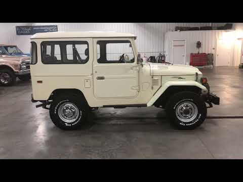 SOLD!!!!    CLEAN COLORADO 1975 TOYOTA FJ-40 LAND CRUISER!!  VERY ORIGINAL AND CLEAN!!