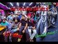 Party ,Dance And SuperBikes With JS Films || Jatt Prabhjot || Glowing Paint  ||  Detailing Devils