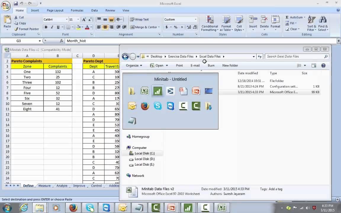 MINITAB MINITAB 17 Software Guide