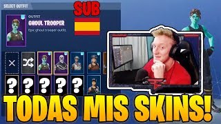 T FUE! Show *YOUR SKINS* From Your Old Fortnite Account *VERY RARAS* - Best Fortnite Moments