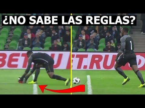 El Insólito blooper del arquero de Nigeria ante 'Kun' Agüero Argentina vs Nigeria 2-4 14/11/2017