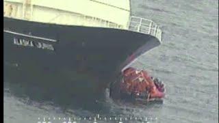 46 Rescued As Ship Sinks Off Alaska Coast