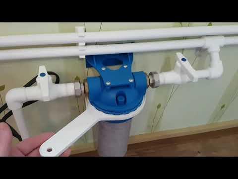 Водопровод из скважины.
