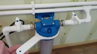 как сделать водопровод на даче из скважины своими руками