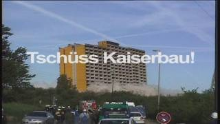 Hotel Europa - Kaiserbau Sprengung 2001
