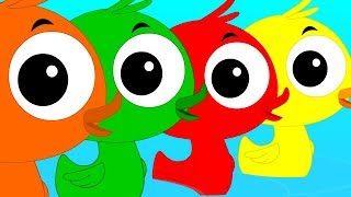 Learn Colors Learning Color With Ducks Preschool Videos For Kids Colors Song kids tv