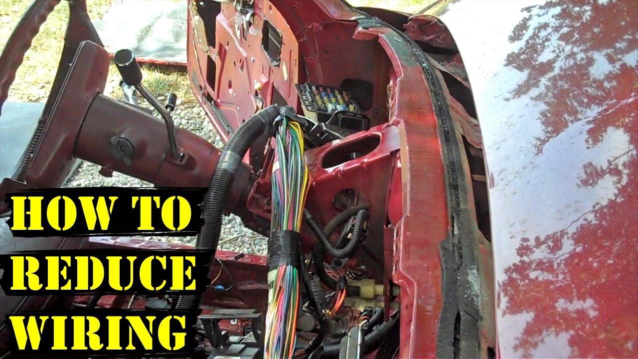 How to Reduce Wiring (Demo Derby Tips)  YouTube