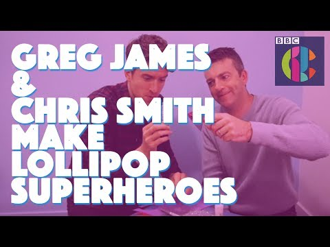 Greg James and Chris Smith PRETENDING to be Blue Peter Presenters!