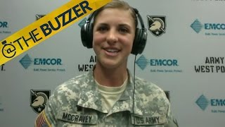 Army softball star reflects on viral leap over catcher