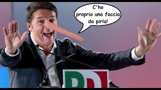 Matteo Renzi Faccia da pirla