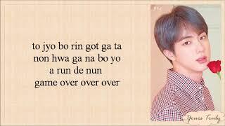 BTS (방탄소년단) - Jamais Vu (Easy Lyrics)